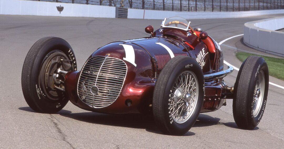 80 años atrás, la Maserati 8CTF ganaba las 500 Millas de Indianápolis