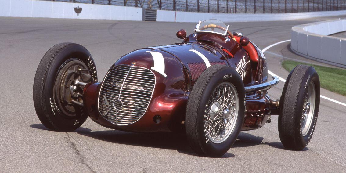 Maserati 8CTF Indianapolis winner slider