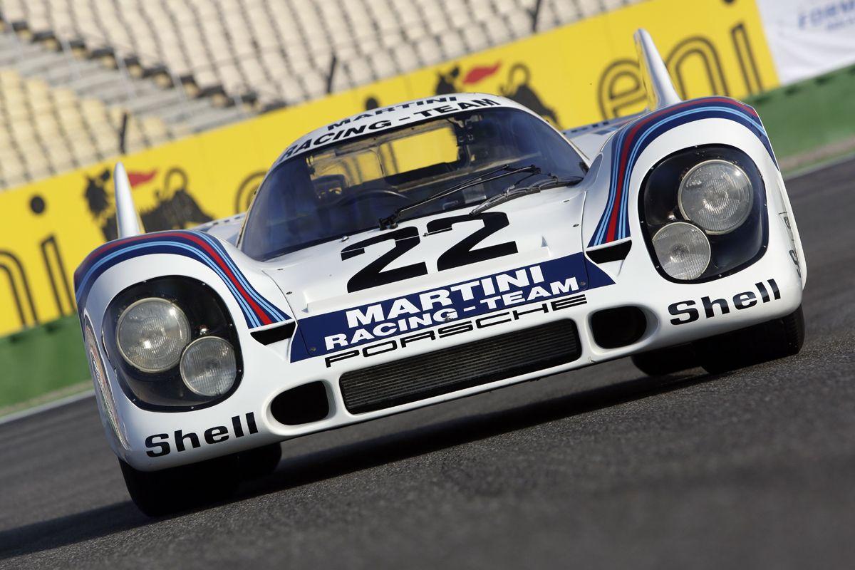 PORSCHE_Porsche gan¢ en Le Mans 1971 con este 917K del equipo Martini con chasis de magnesio