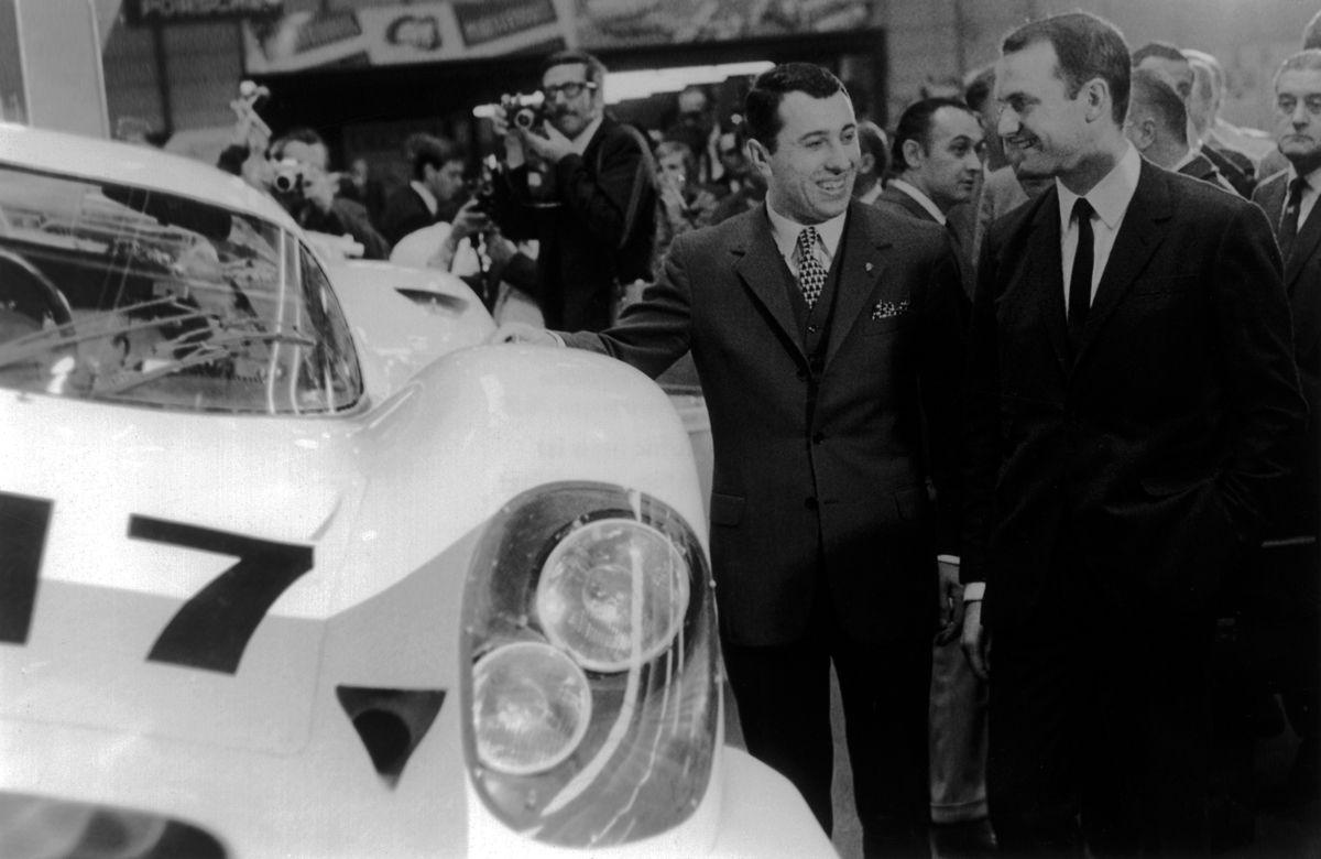 PORSCHE_Presentacin del prototipo del Porsche 917 en el Saln del Automvil de Ginebra de 1969