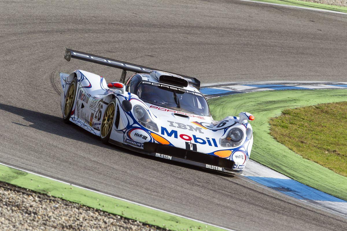 Porsche 911 GT1, ganador en Le Mans en 1998