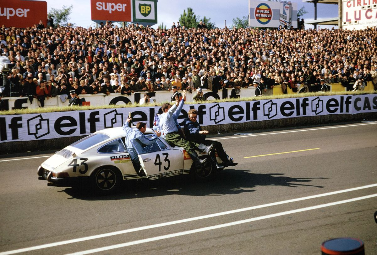Porsche 911 T - Ganador 24 Horas Le Mans 1968 en GT 2.0