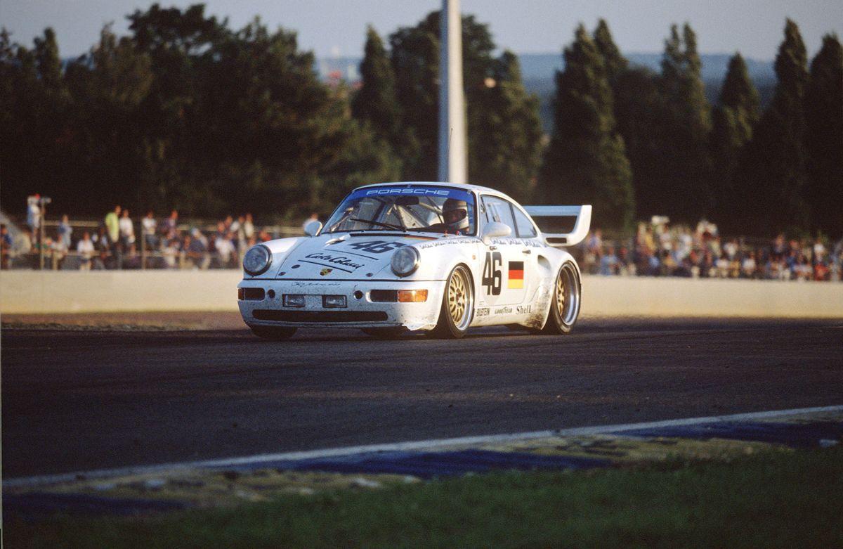 Porsche 911 Turbo S de las 24 Horas de Le Mans 1993