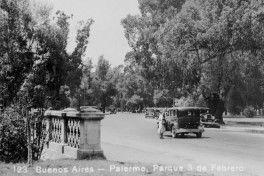 Parque 3 de Febrero de Palermo con slider_Argentina