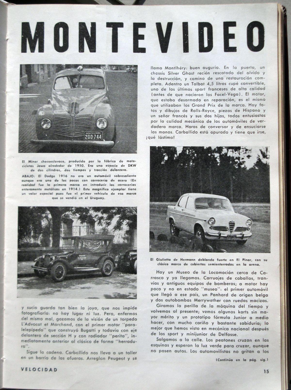 Reportaje a Montevideo II