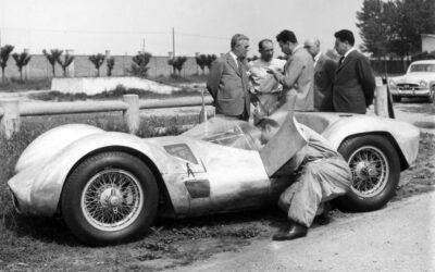 60 años del debut victorioso de la Maserati Birdcage