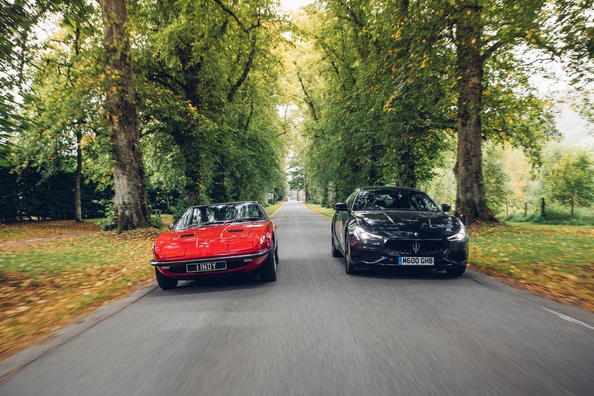 Maserati_International_Rally_2019_Blair Castle_MaseratiIndy Maserati Ghibli