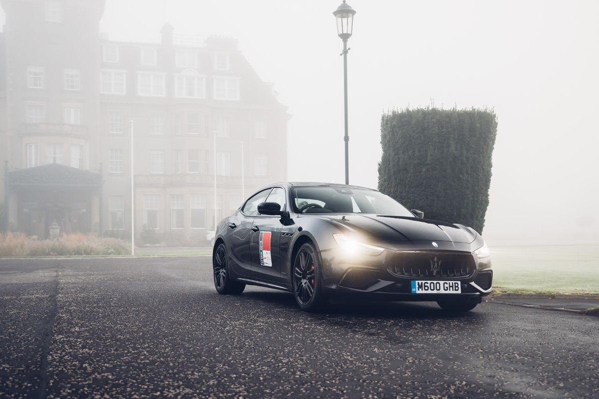 Maserati_International_Rally_2019_Gleneagles Hotel_Maserati Ghibli