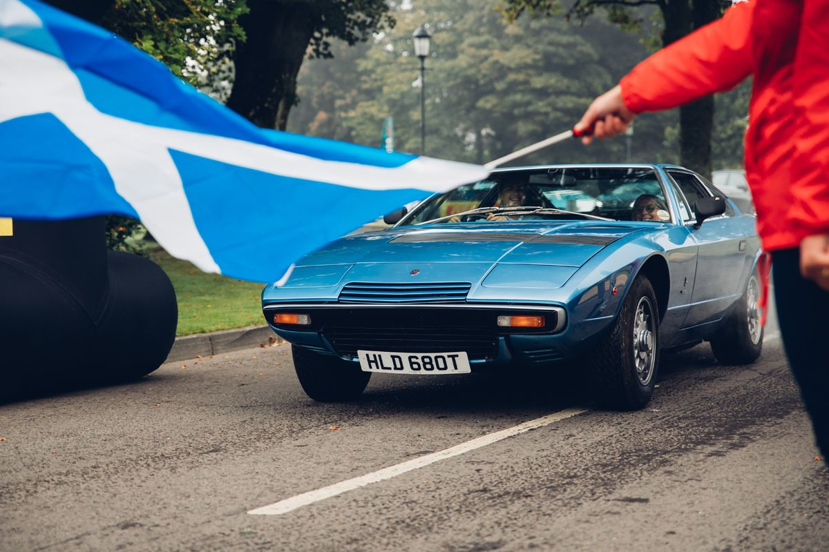 Maserati_International_Rally_2019_Gleneagles Hotel_Maserati Khamsin