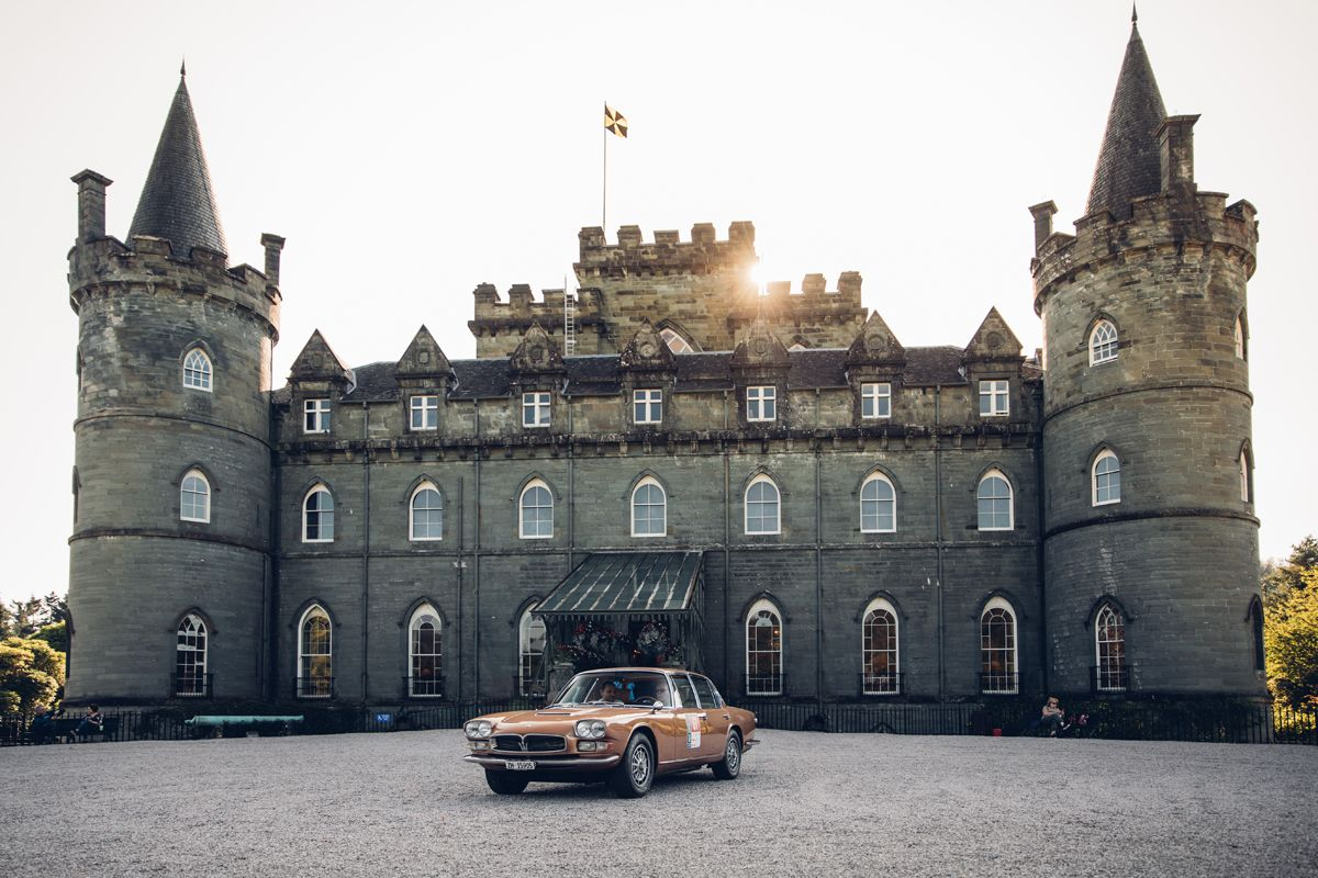 Maserati_International_Rally_2019_Inveraray Castle_Maserati Quattroporte