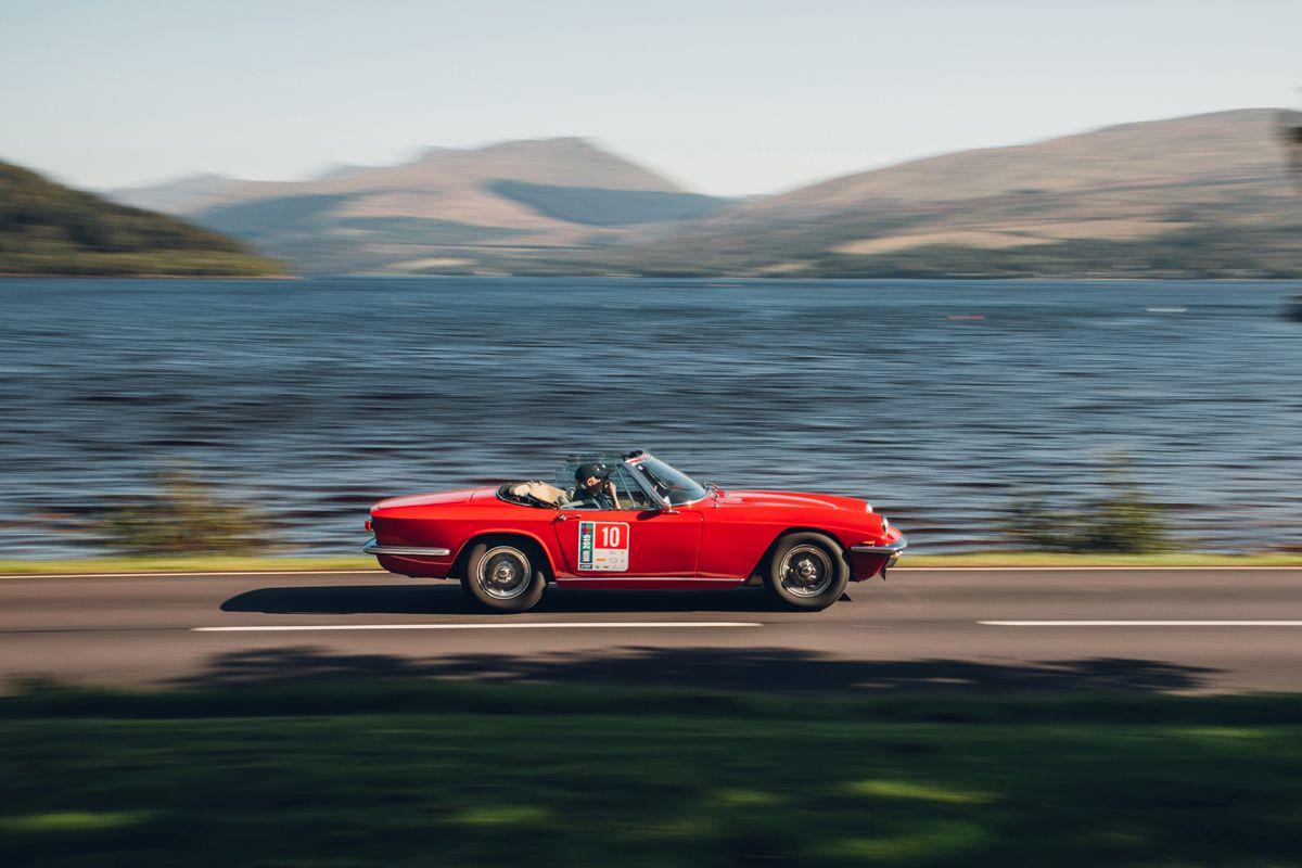 Maserati_International_Rally_2019_Loch Fyne Inveraray Castle_Mistral Spyder