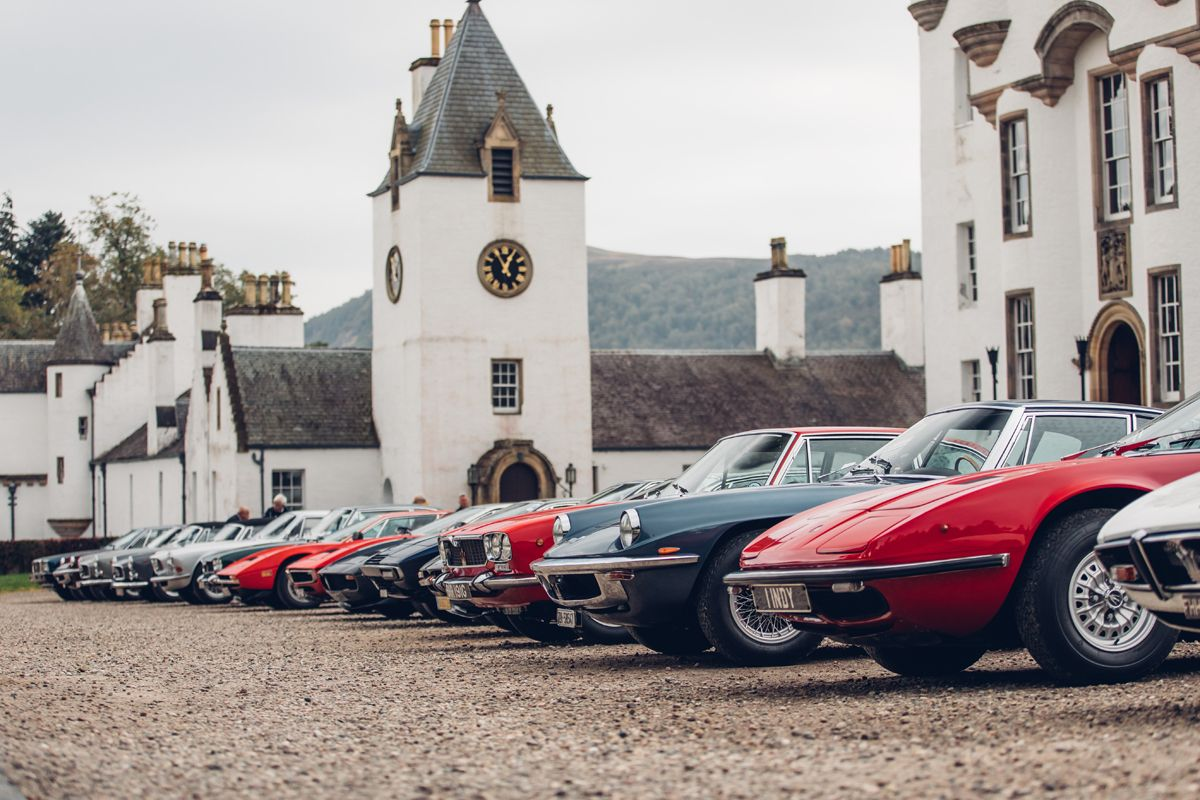 Maserati_International_Rally_2019_Maserati at Blair Castle