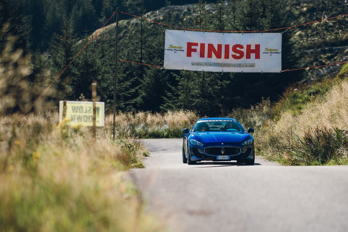 Maserati_International_Rally_2019_The Rest and Be Thankful Hill Climb_Maserati GranTurismo