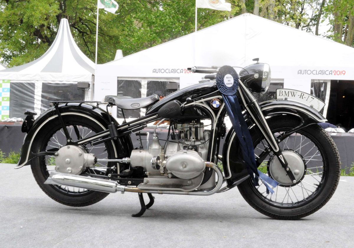 Autoclásica Motos - Best of Show 2019 - una BMW R 17 1936