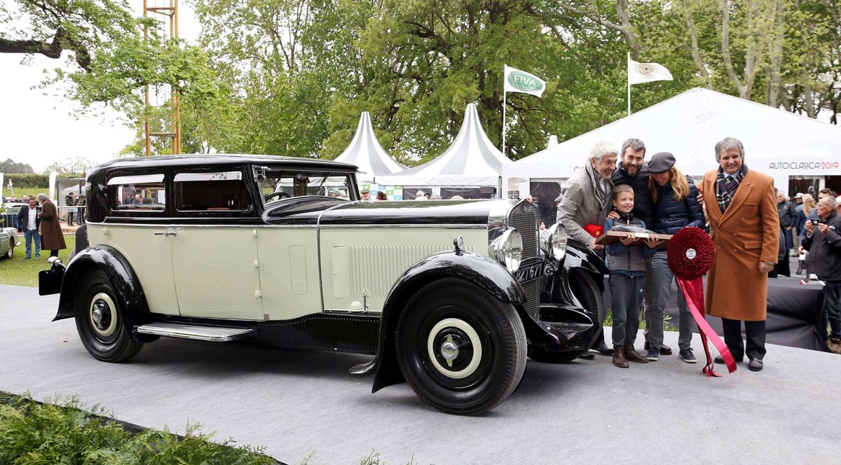 Autoclasica 2019 - Best of Show un DELAGE D8 CARROCERIA GALLE 1932