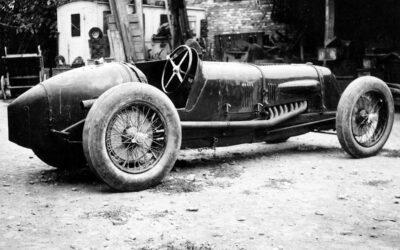 LaMaserati Tipo V4 y los 90 años de su récord de velocidad
