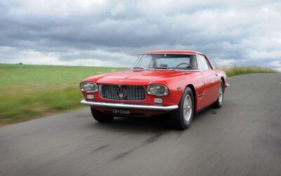 60 años atrás se presentaba la Maserati 5000 GT