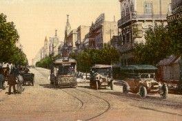 Uruguay_Montevideo_Avenida 18 de julio 1910