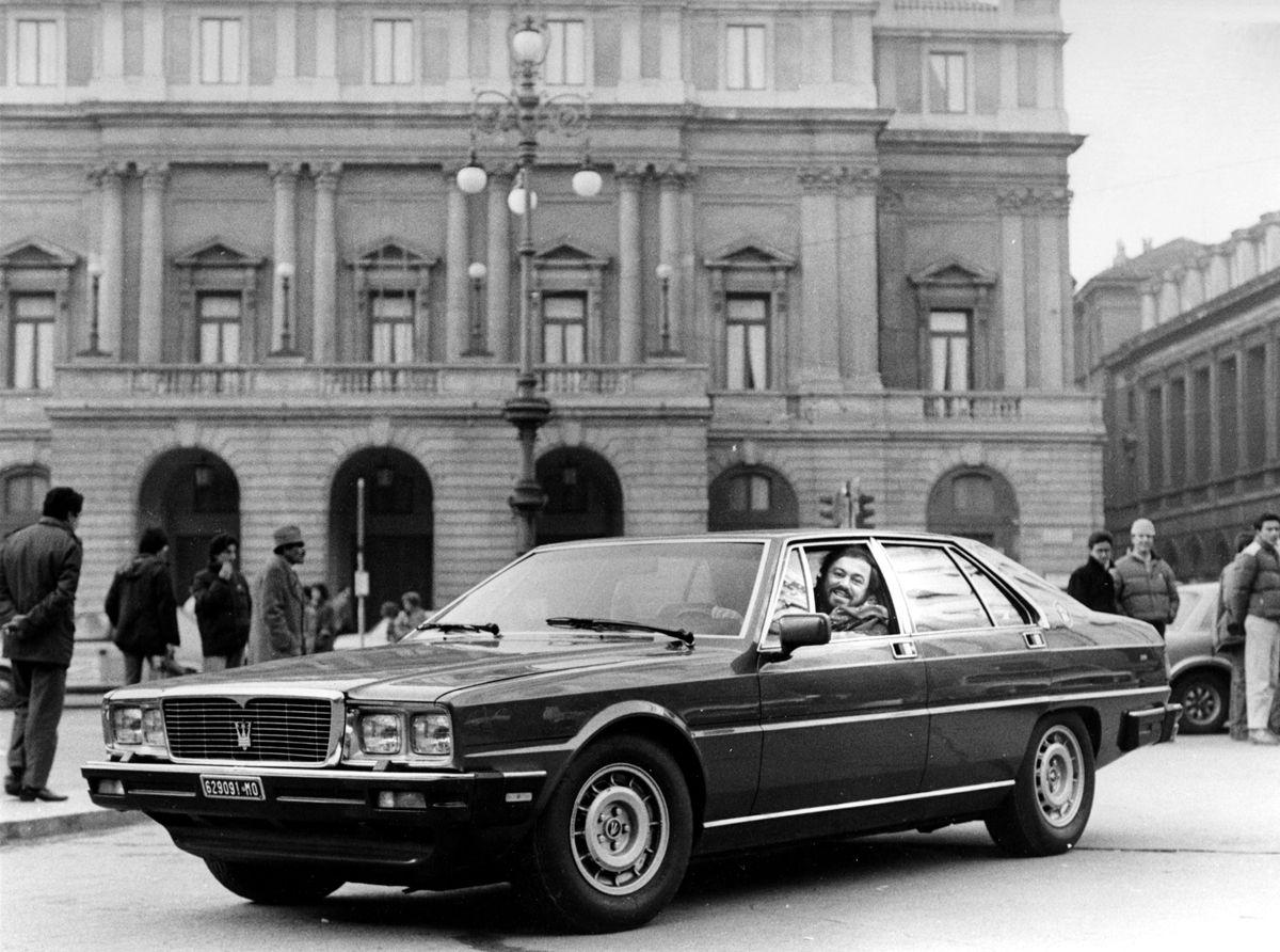 Maserati Quattroporte 3rd generation - Luciano Pavarotti -1985