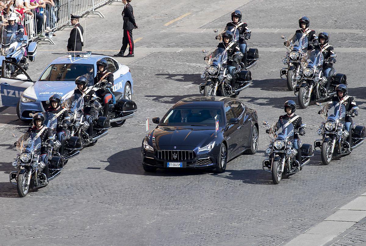 Maserati Quattroporte 6th generation - Italian President Sergio Mattarella - Republic Day - 2 June 2019_02