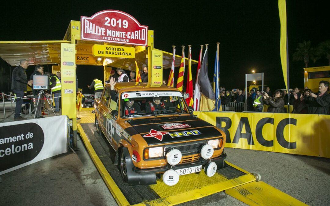 Rallye Montecarlo Historique 2020: la salida desde Barcelona