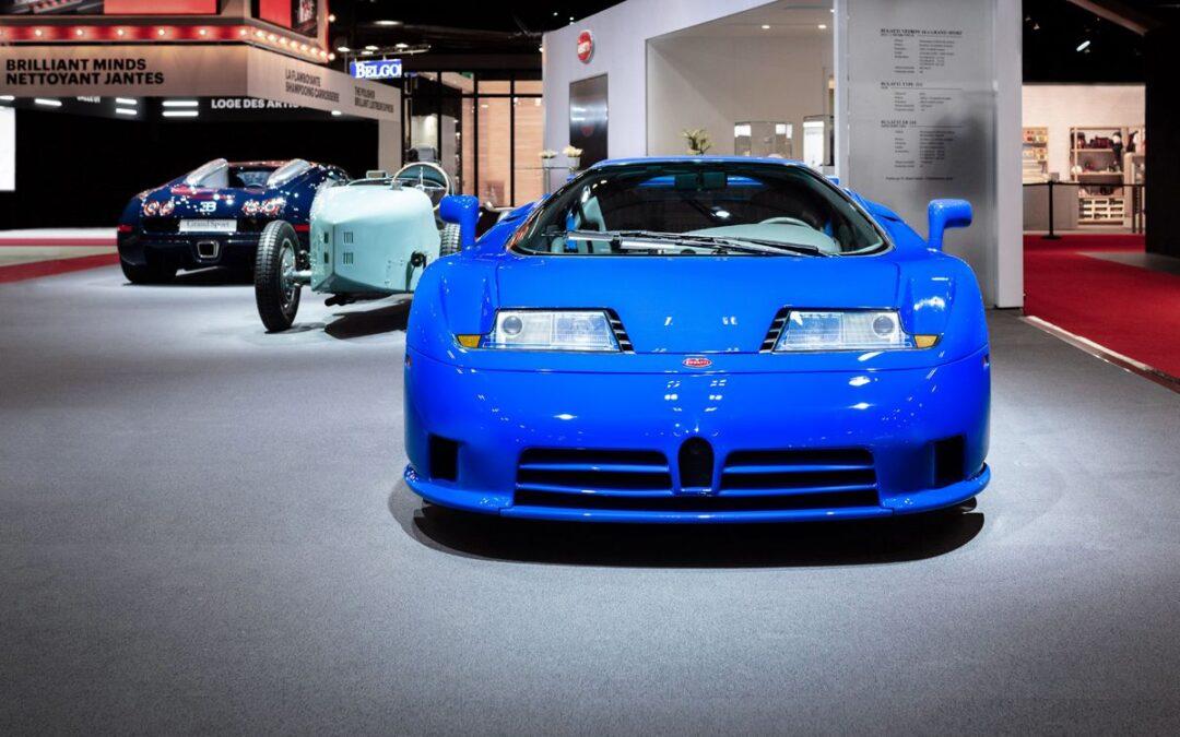 Retromobile 2020: el stand de Bugatti