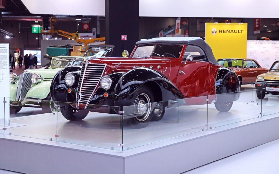 Retromobile 2020: el stand de Renault