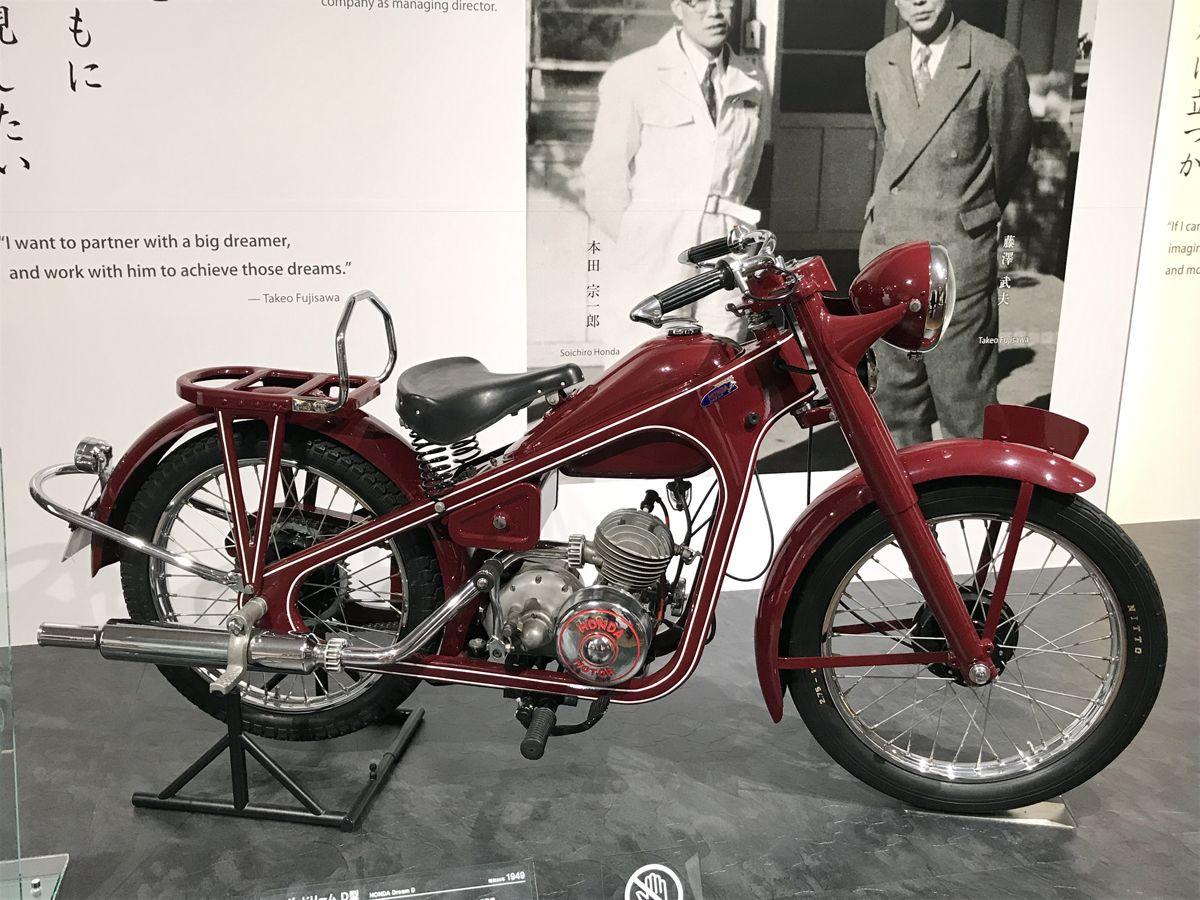 CA - 26/12/2019 - Museu da Honda em Motegi, no Jap‹o. Honda foi a Dream tipo D (1949) - Fotos: Jason Vogel