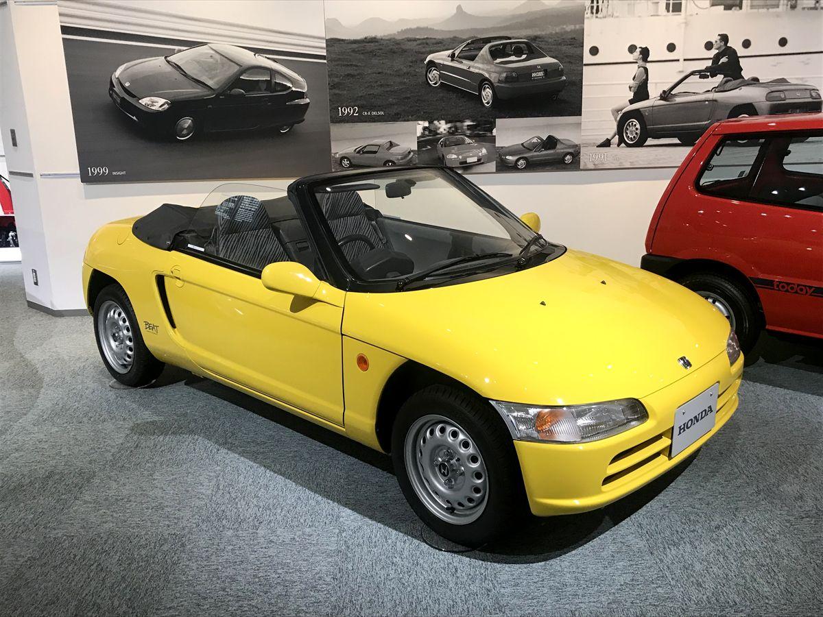 CA - 26/12/2019 - Museu da Honda em Motegi, no Jap‹o. Honda Beat (1991) - Fotos: Jason Vogel