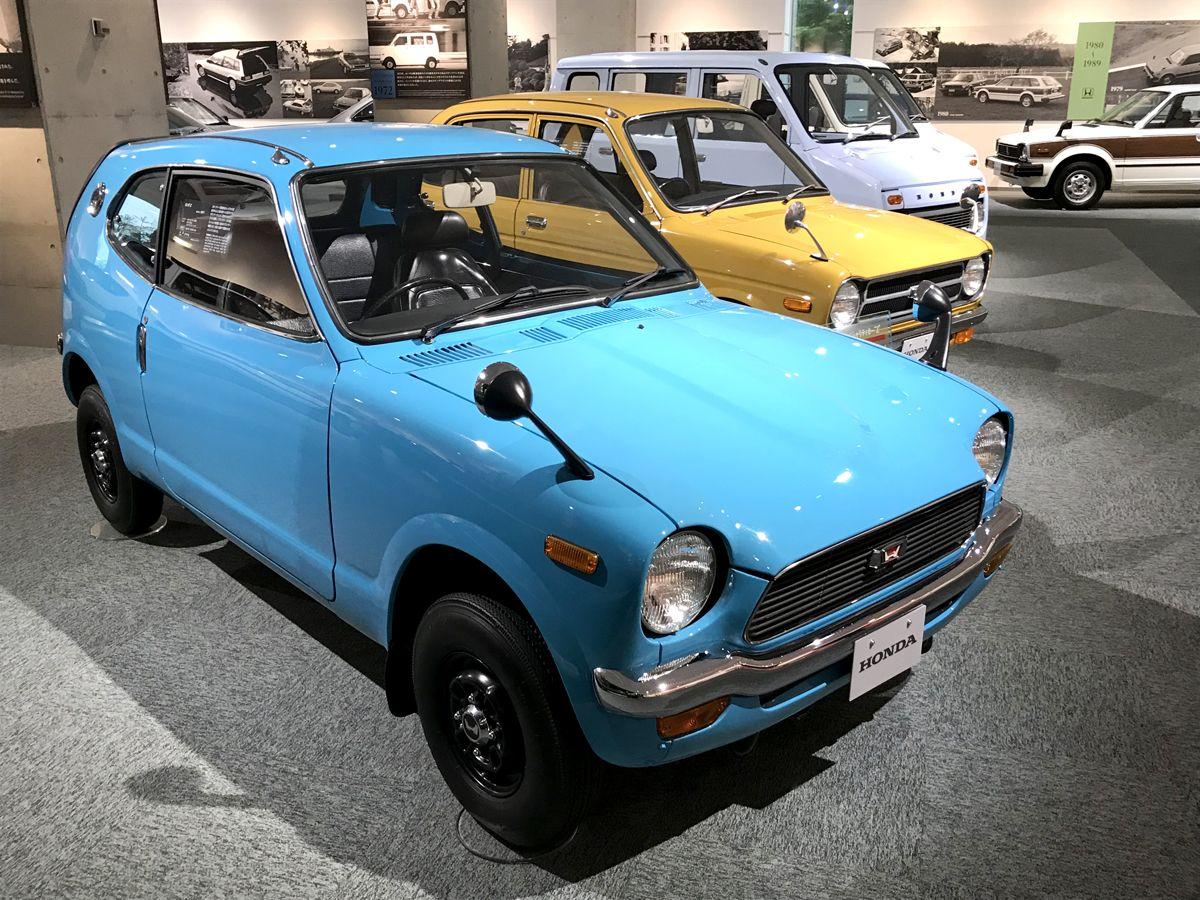 CA - 26/12/2019 - Museu da Honda em Motegi, no Jap‹o. Honda Z (1970) - Fotos: Jason Vogel