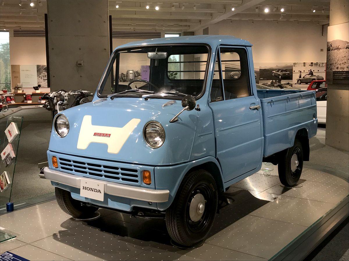 CA - 26/12/2019 - Museu da Honda em Motegi, no Jap‹o. Honda T360 (1963) - Fotos: Jason Vogel T360 (1963). Picape foi o primeiro Honda de quatro rodas