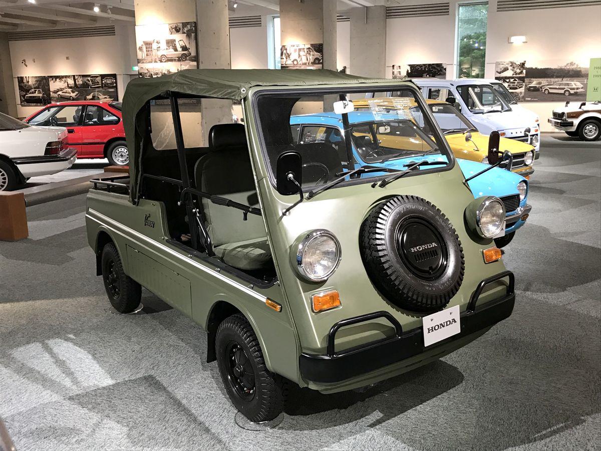 CA - 26/12/2019 - Museu da Honda em Motegi, no Jap‹o. Honda Vamos (1970) - Fotos: Jason Vogel