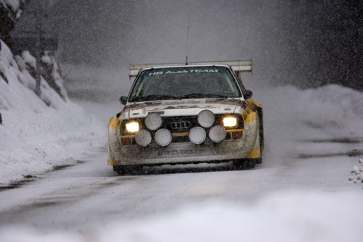 The most extrem Rallye-car: The Audi quattro Rallye S1.