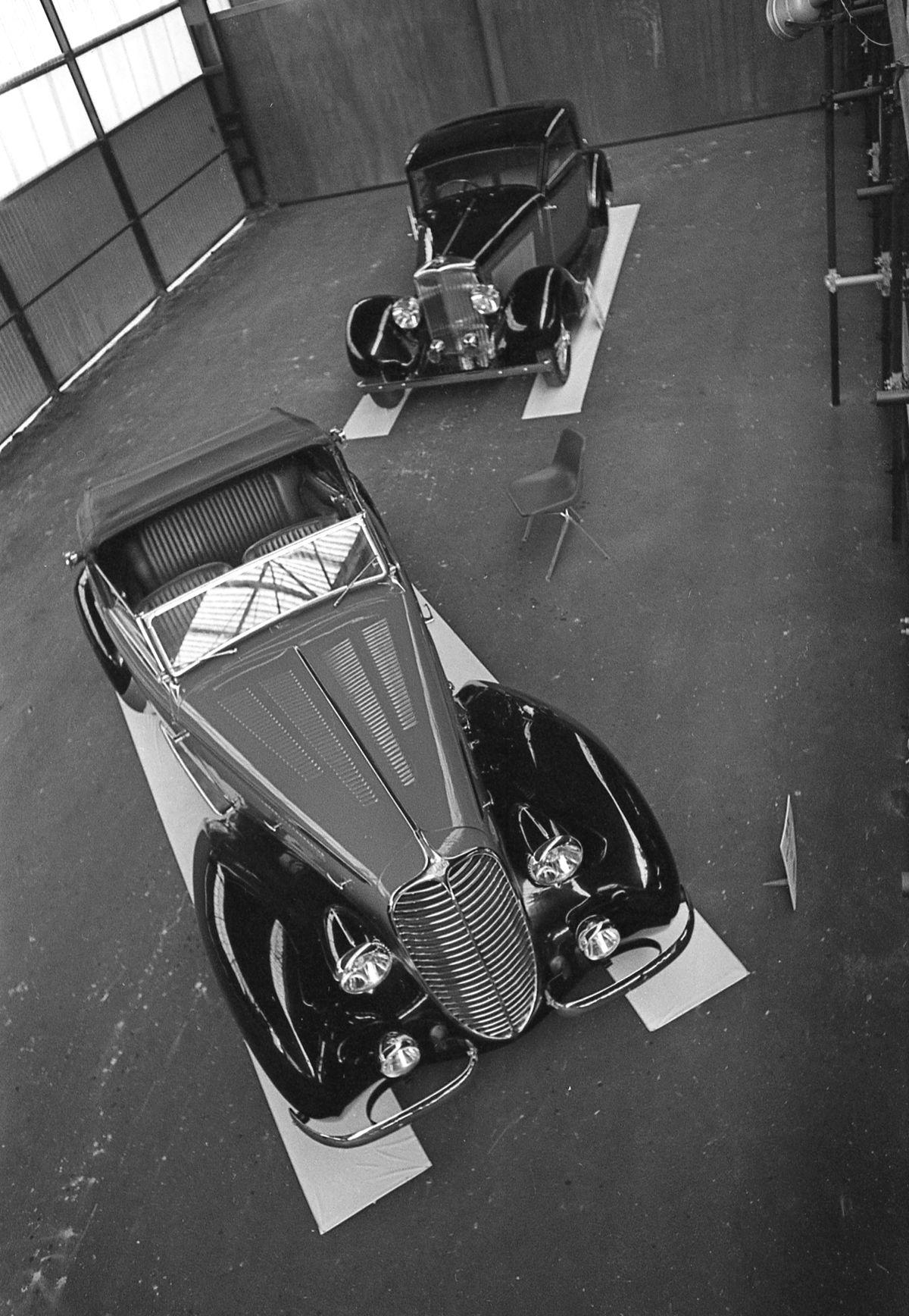 Delahaye 135M y Bentley 4 1-4
