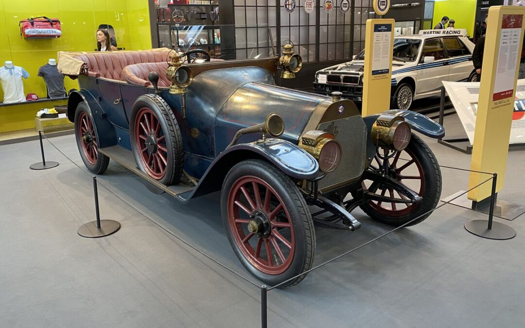 Retromobile 2020: 24 HP, el primer Alfa