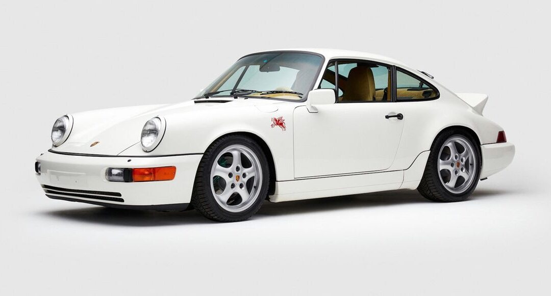 Un Porsche 911 a la moda ALD