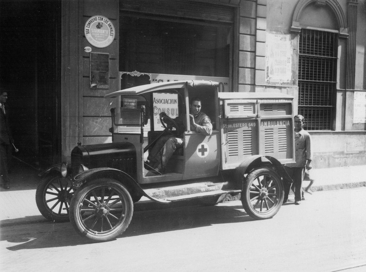 Ford T Ambulancia