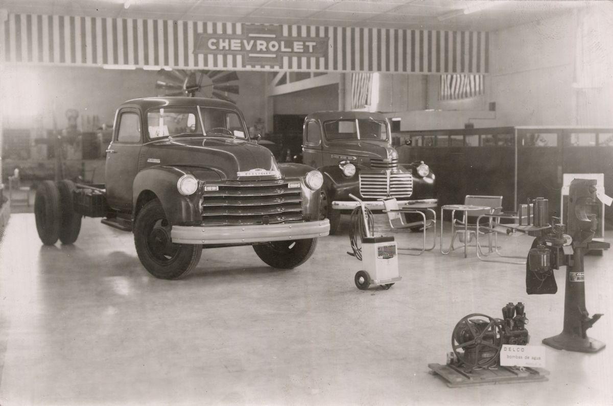 Uruguay_Lavalleja_Salon de exposicion del concesionario de General Motors Uruguaya S.A. en Minas, Marcelino Trelles Isain