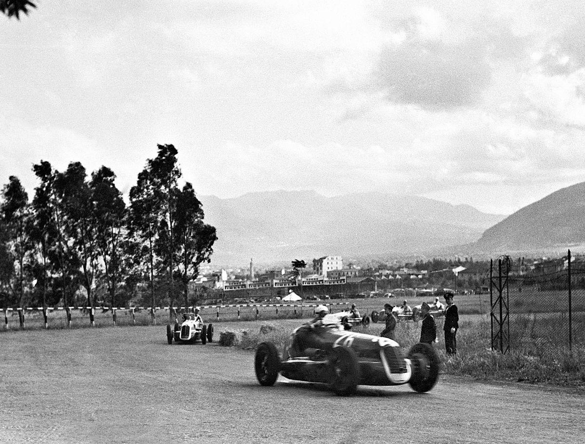 01_Palermo 23.5.1940 Targa Florio Maserati 4CL Gigi Villoresi