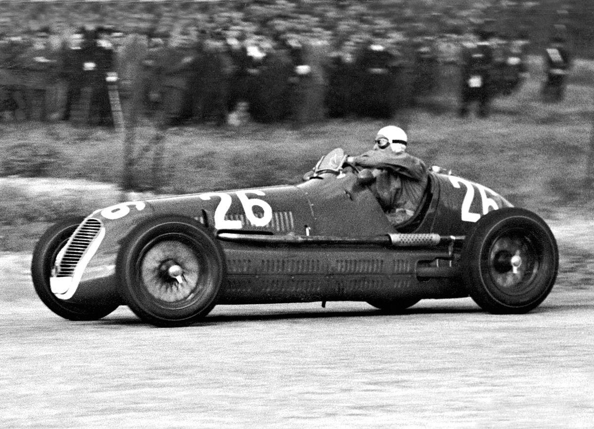 02_ Palermo 23.5.1940 Targa Florio Maserati 4CL Gigi Villoresi