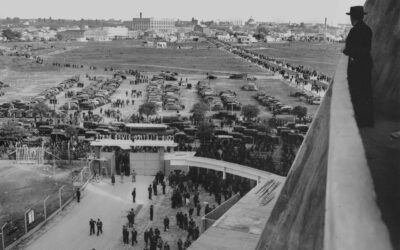 El Estadio Monumental en 1938