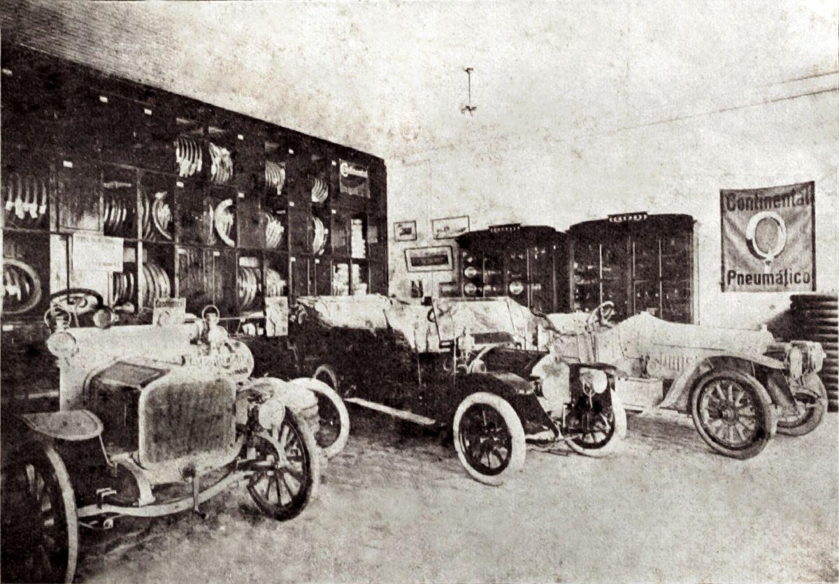 AE - Carlos Schlosser Benz Saurer 1911 d