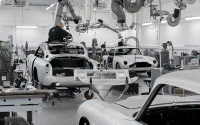 55 años después, Aston Martin vuelve a producir los DB5 de James Bond