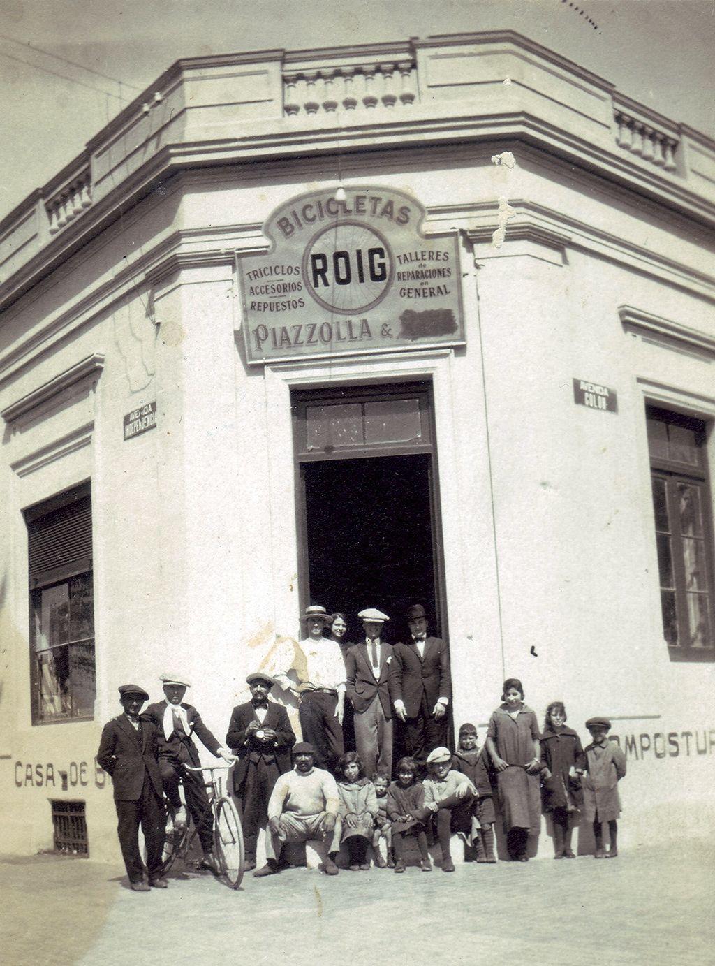 Av Colón e Independencia donde funcionó entre 1921 y 1925