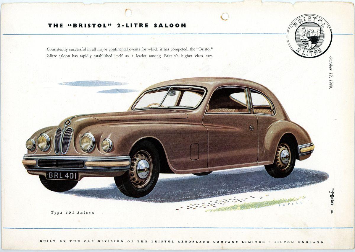 Bristol 2 litros_The Motor_Oct 12 1949_Inglaterra