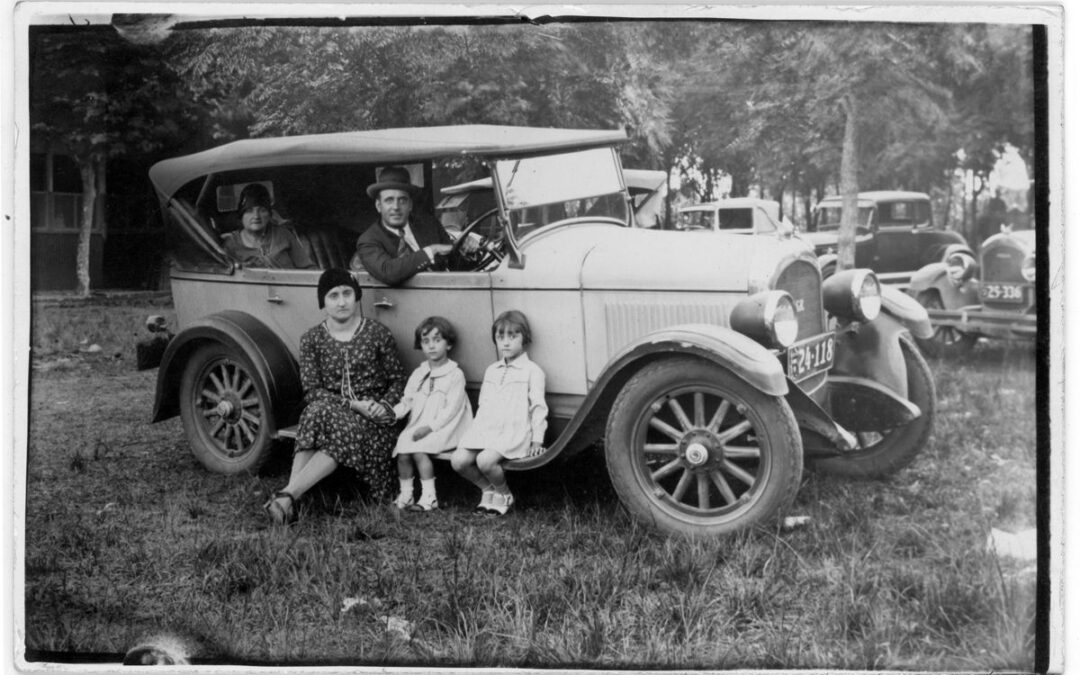 El automóvil, para disfrutar en familia