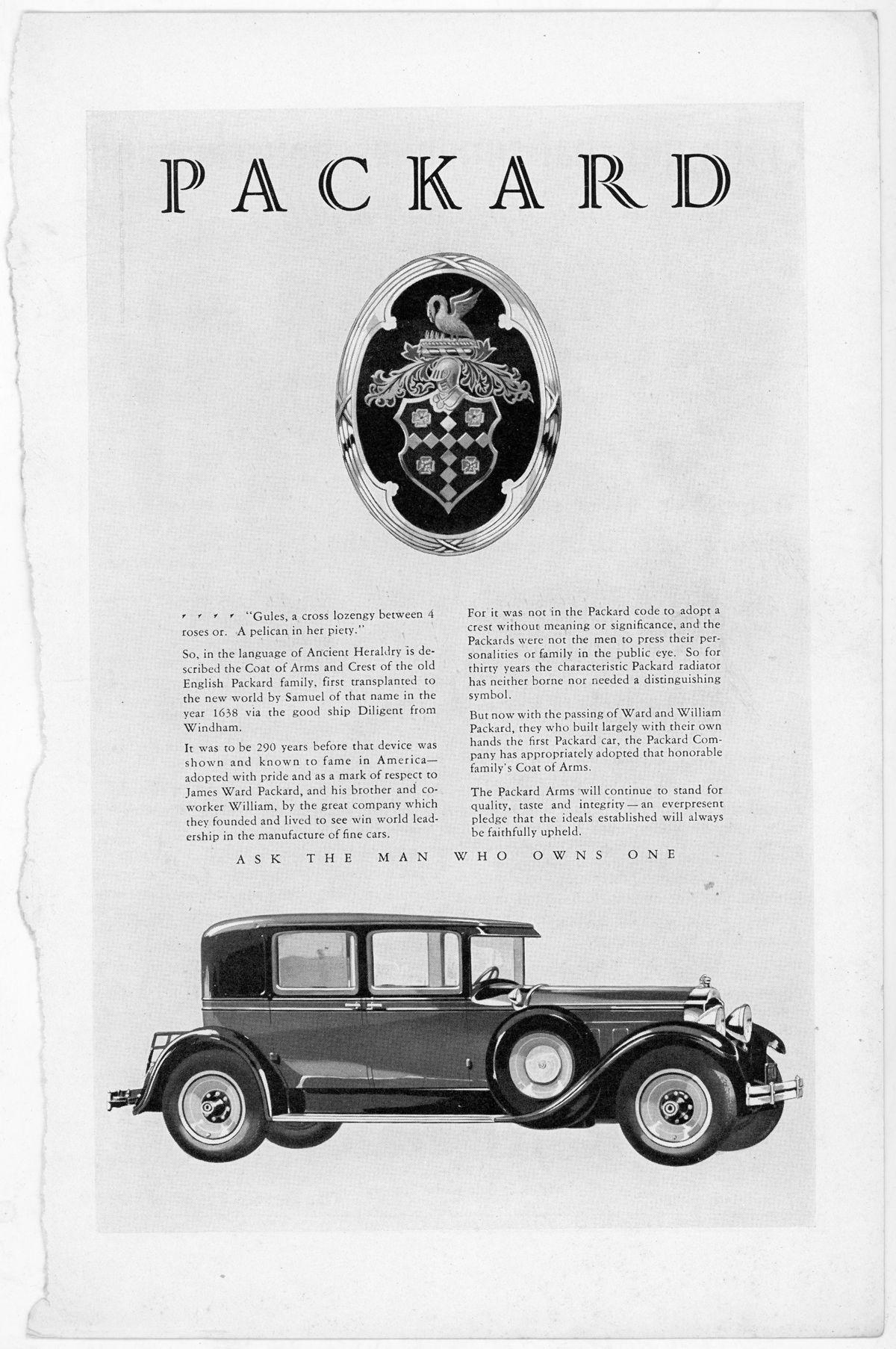 Packard escudo de armas_EE.UU