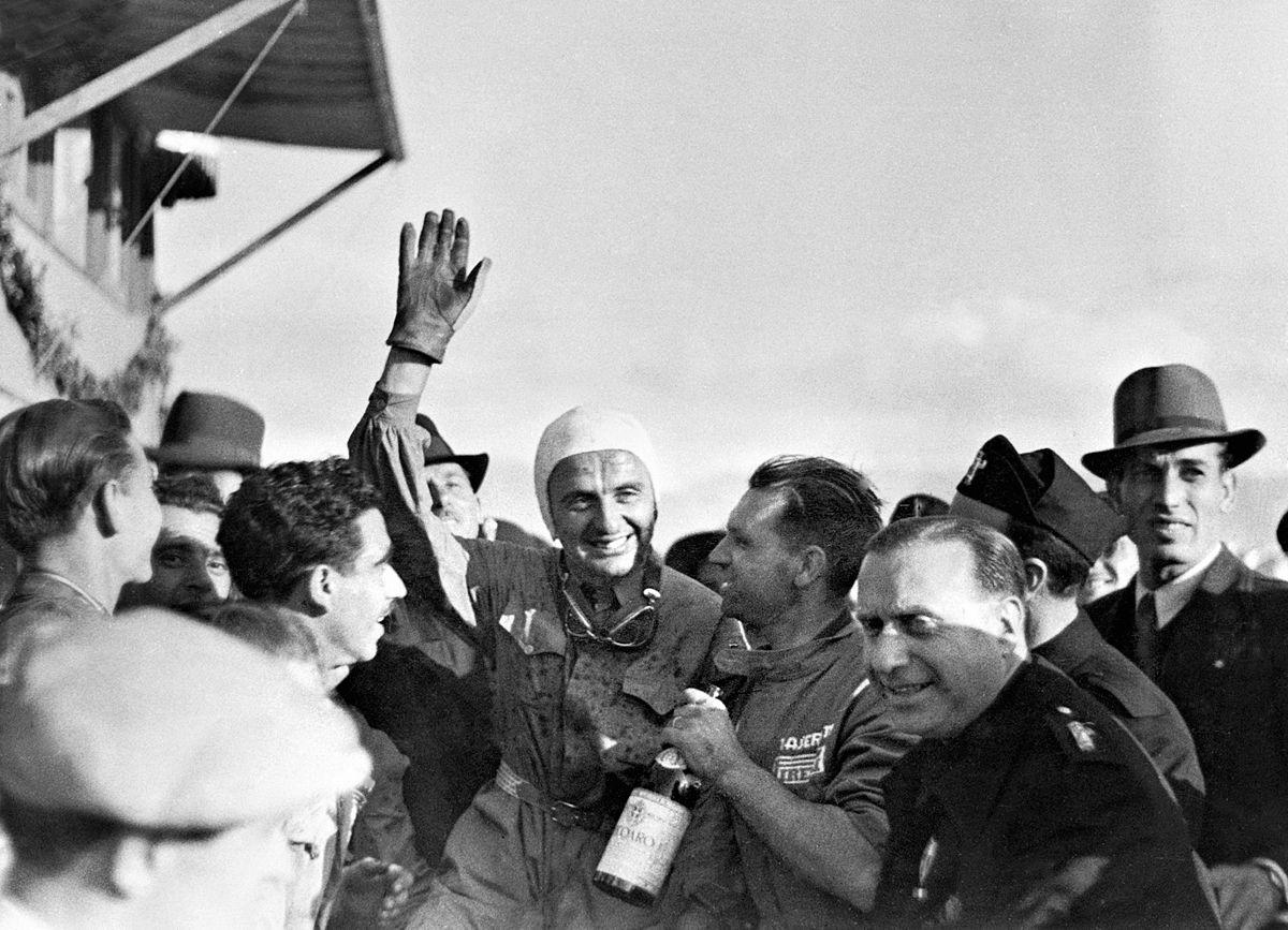 Palermo 23.5.1940 Targa Florio Gigi Villoresi