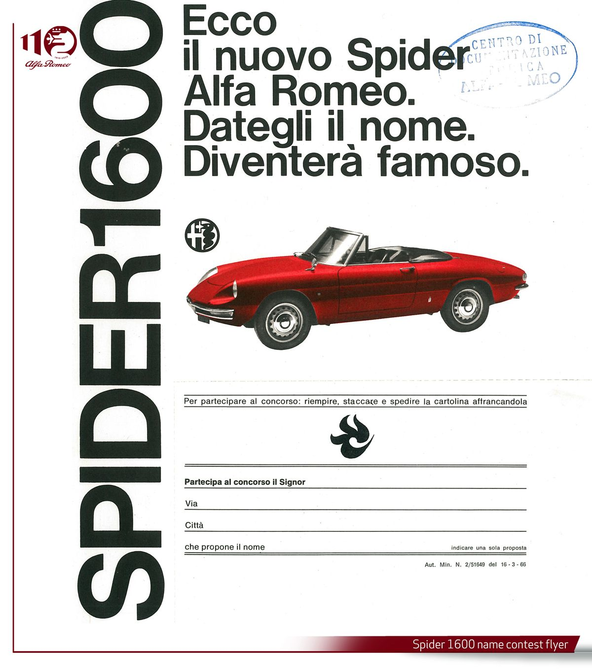 Spider-1600 name contest flyer ENG
