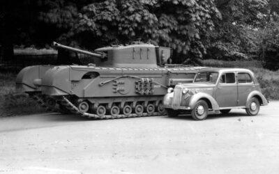 Vauxhall presenta su tanque A22 «Churchill»